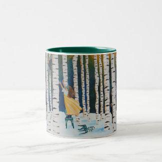 Perris Saves Arielle Two-Tone Coffee Mug