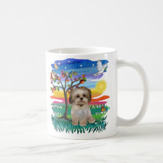 Perrito #2 de Shih Tzu Tazas De Café