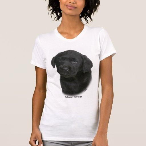 Perrito 9Y270D-041 del labrador retriever Camisetas