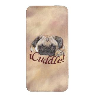 Perrito adorable del barro amasado del iCuddle Funda Acolchada Para iPhone