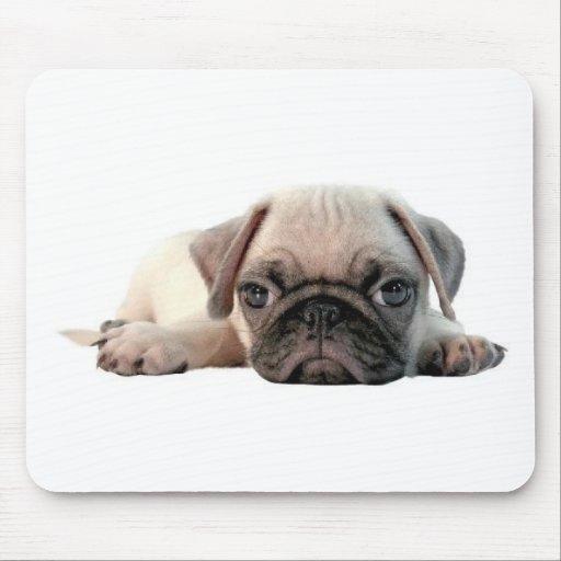 perrito adorable del barro amasado alfombrilla de ratón