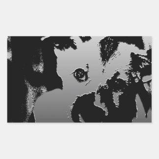 Perrito anhelante rectangular altavoces