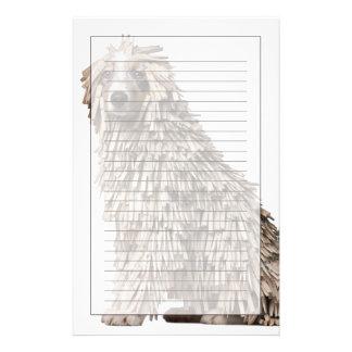 Perrito australiano del pastor por completo del Cl Papeleria Personalizada