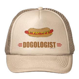 Perrito caliente divertido gorras de camionero
