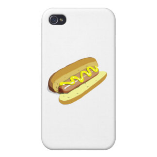Perrito caliente iPhone 4/4S funda