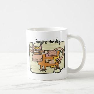 Perrito caliente futuro taza