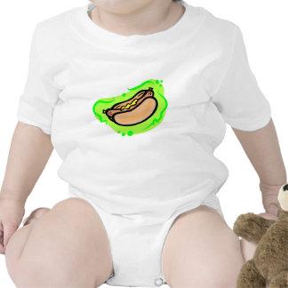 Perrito caliente traje de bebé