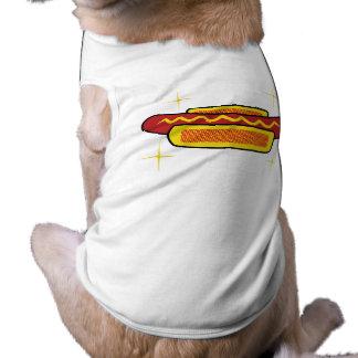 Perrito caliente camisas de mascota