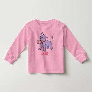 Perrito conocido del perro de los niños - camiseta polera