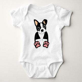 Perrito de Boston Terrier Body Para Bebé
