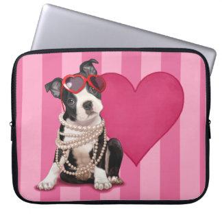 Perrito de Boston Terrier Mangas Portátiles