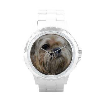 Perrito de Bruselas Griffon Reloj