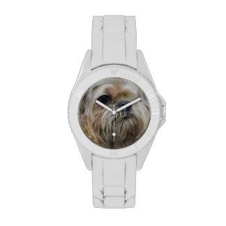 Perrito de Bruselas Griffon Reloj De Mano