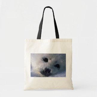Perrito de foca de Groenlandia Bolsas De Mano