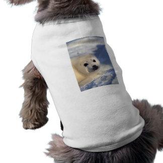 Perrito de foca de Groenlandia Camisas De Perritos