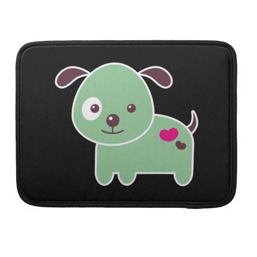 Perrito de Kawaii Fundas Para Macbook Pro