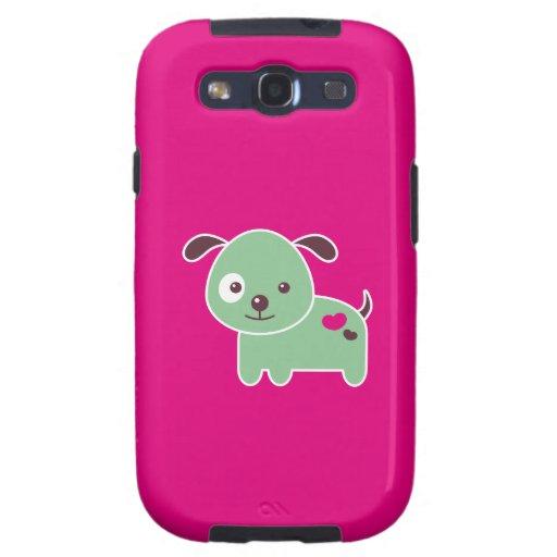 Perrito de Kawaii Galaxy S3 Cobertura