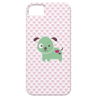 Perrito de Kawaii iPhone 5 Carcasa