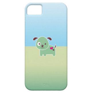 Perrito de Kawaii iPhone 5 Cárcasas