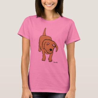 perrito de Labrador (chica) Playera