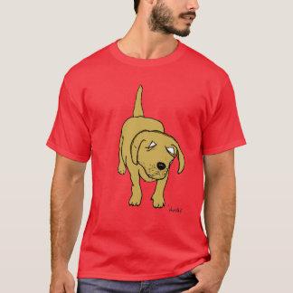perrito de Labrador Playera