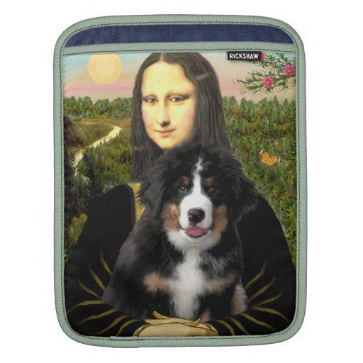 Perrito de Mona Lisa - del perro de Bernese Mt Funda Para iPads