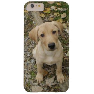 Perrito de oro adorable del labrador retriever funda de iPhone 6 plus barely there