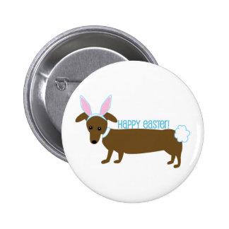 Perrito de Pascua Pin Redondo 5 Cm