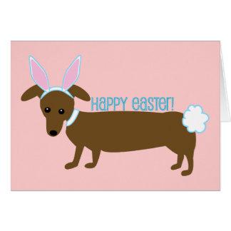Perrito de Pascua Tarjeta De Felicitación