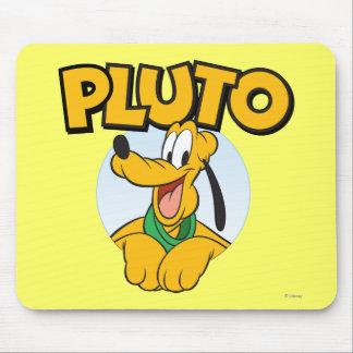 Perrito de Plutón el | con nombre Tapete De Ratón