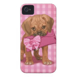 Perrito de Puggle Funda Para iPhone 4 De Case-Mate