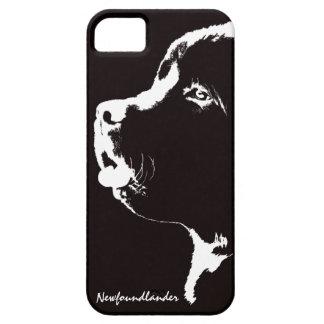 Perrito de Terranova de la caja de Terranova IPhon iPhone 5 Funda