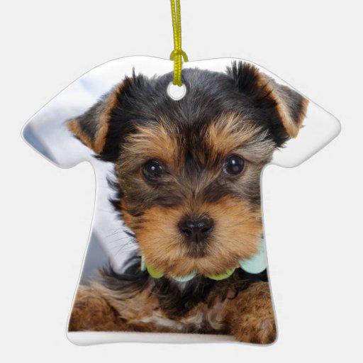 Perrito de Terrier irlandés Ornamento Para Arbol De Navidad