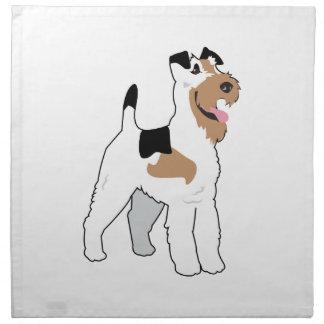 Perrito de Terrier Servilleta