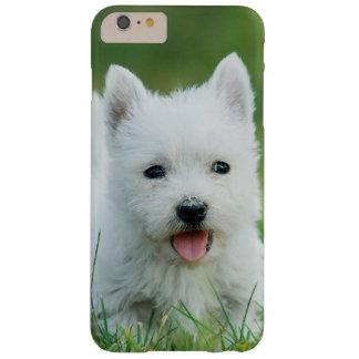 Perrito de Westie Funda Para iPhone 6 Plus Barely There