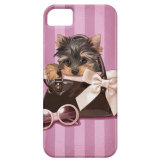 Perrito de Yorkshire Terrier iPhone 5 Fundas