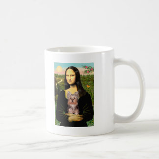 Perrito de Yorkshire Terrier - Mona Lisa Taza Clásica