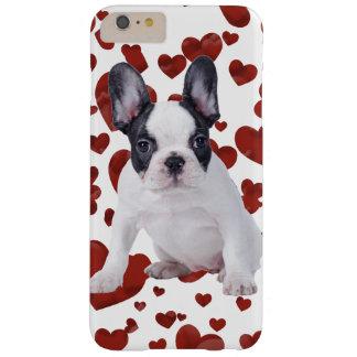 Perrito del amor de Frenchie Funda Para iPhone 6 Plus Barely There