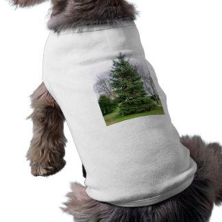 Perrito del árbol de pino ropa para mascota