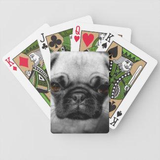 Perrito del barro amasado baraja de cartas