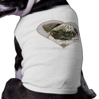 Perrito del barro amasado de Meeping por los estud Camiseta De Perrito