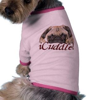 perrito del barro amasado del iCuddle Camisas De Mascota