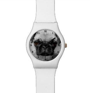 Perrito del barro amasado relojes de mano