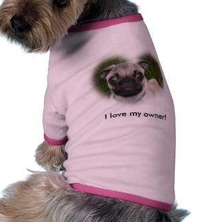 Perrito del barro amasado ropa de perros