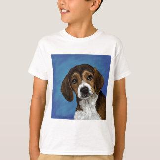 Perrito del beagle remeras