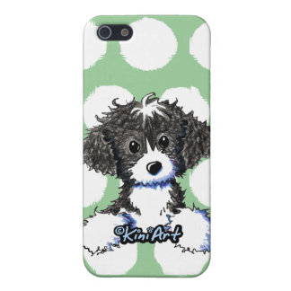 Perrito del bolsillo de Cockapoo/de Spoodle iPhone 5 Protectores