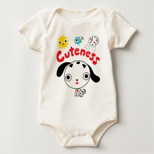 Perrito del Cuteness Body Para Bebé