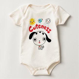 Perrito del Cuteness Mameluco De Bebé