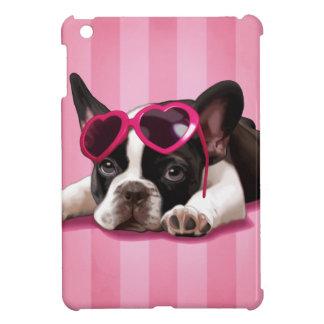 Perrito del dogo francés iPad mini protectores