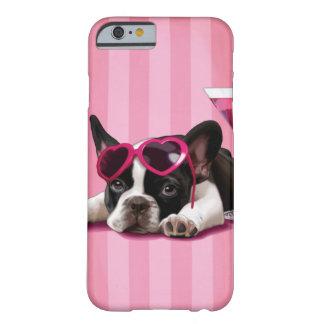 Perrito del dogo francés funda para iPhone 6 barely there